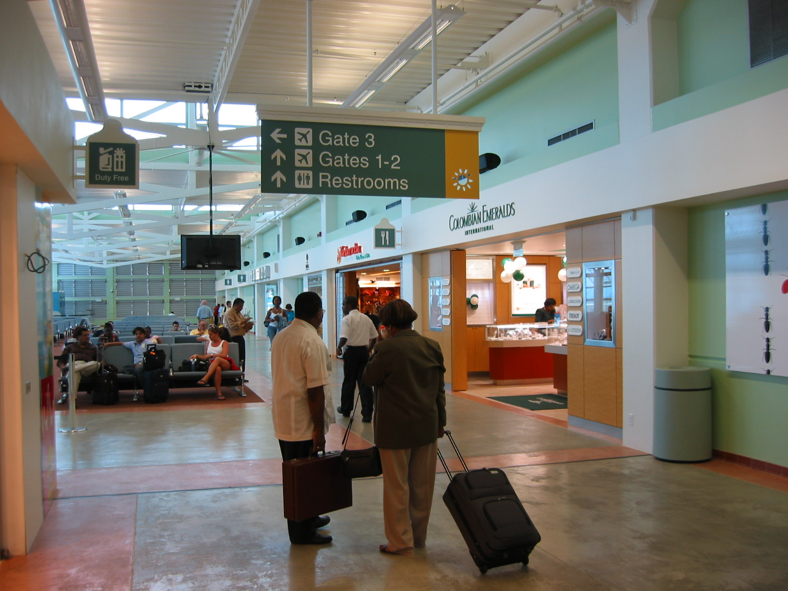 Curacao S New Airport Terminal Building